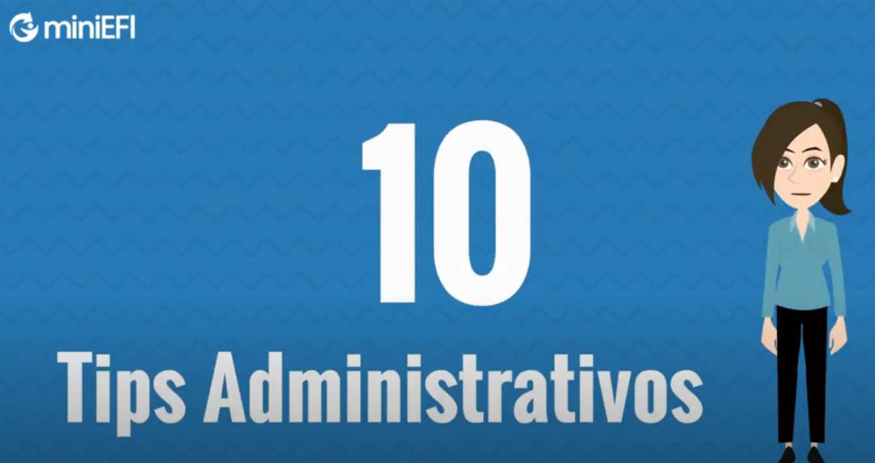 10 Tips Administrativos