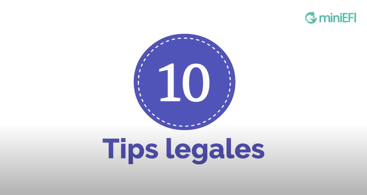 10 Tips Legales